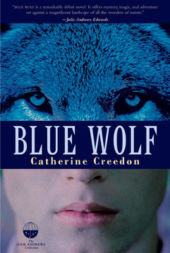 Blue Wolf by Catherine Creedon