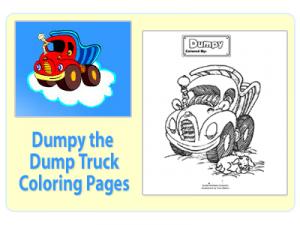 Dumpy-Dumptruck-Coloring-Pages