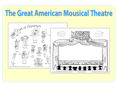 Julie Andrews Great American Mousical Activity Set