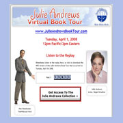 Julie Andrews Virtual Book Tour